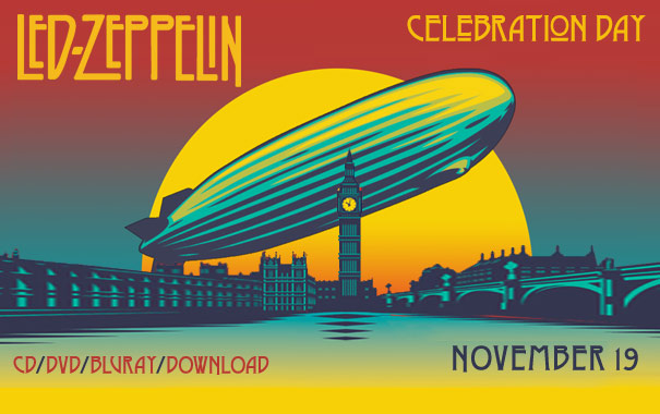 Led Zeppelin Celebration Day Movie